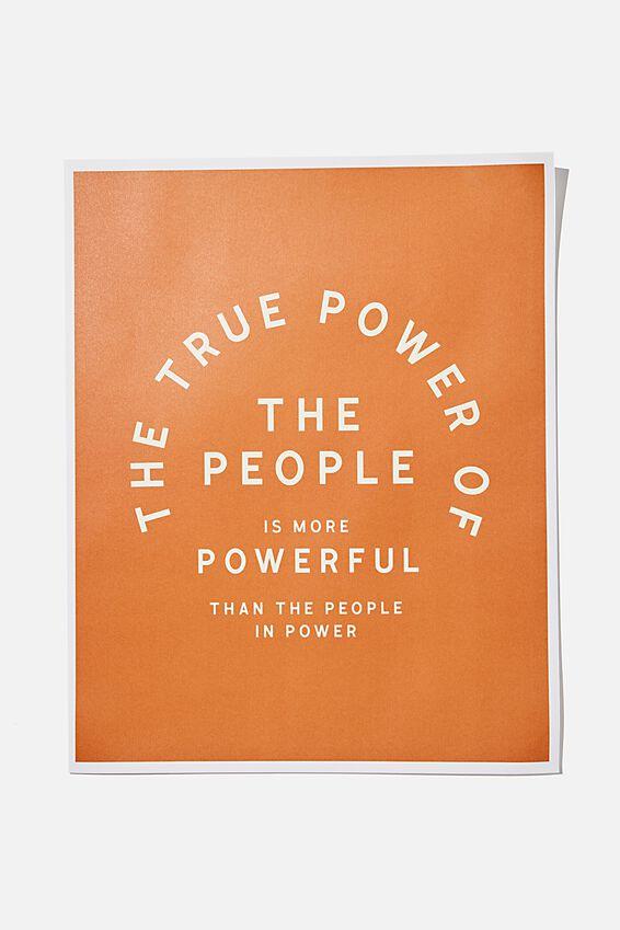 Awaken Poster, POWER OF THE PEOPLE