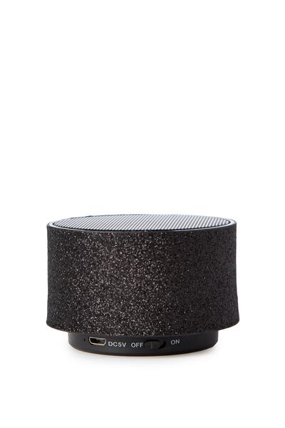 The Bass Speaker, BLACK GLITTER