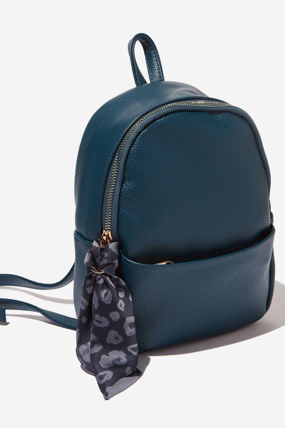 Mini Cairo Backpack, TEAL