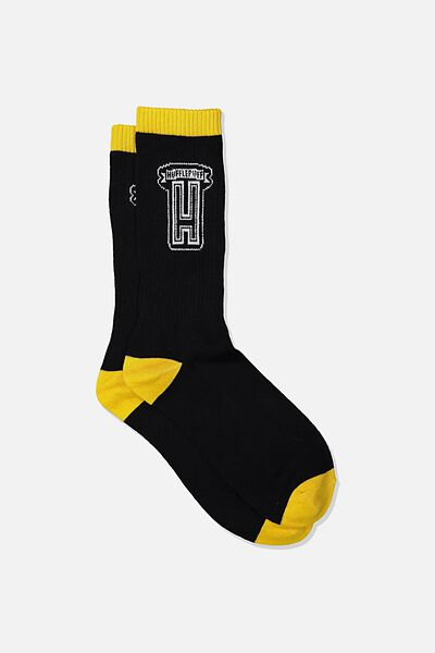 Novelty Socks, LCN WB HPO HUFFLEPUFF COLLEGE