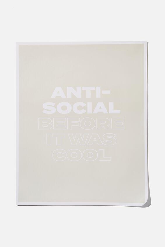 Awaken Poster, ANTI-SOCIAL