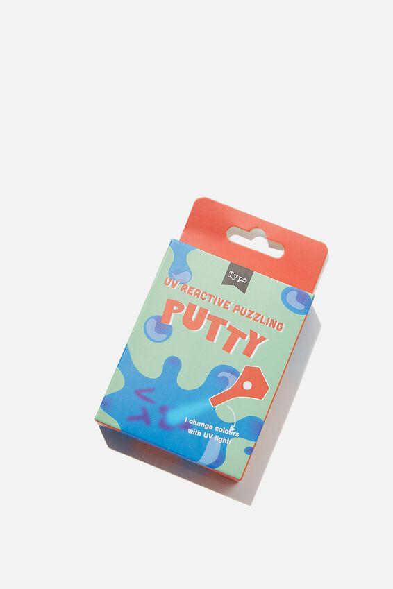 Puzzling Putty, UV PUTTY