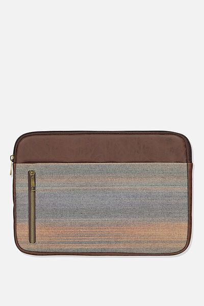 Take Charge Laptop Cover 13 inch, OMBRE CHECK