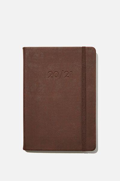 2020 21 A5 Weekly Buffalo Diary, RICH TAN