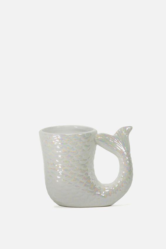 Novelty Shaped Mug, MERMAID TAIL