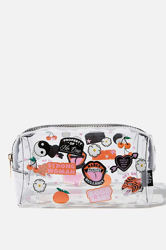 Brooklyn Pencil Case, BADGES