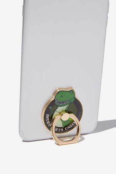 Licenced Metal Phone Ring, LCN DIS DINO