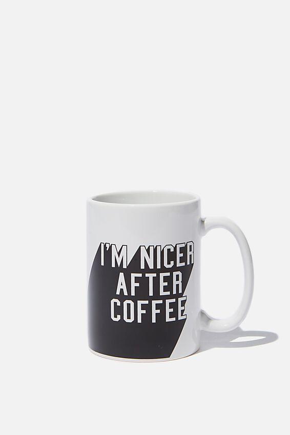 Double Dose Mug, NICER AFTER COFFEE