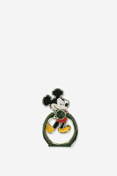 Licenced Metal Phone Ring, LCN DIS VINTAGE MICKEY