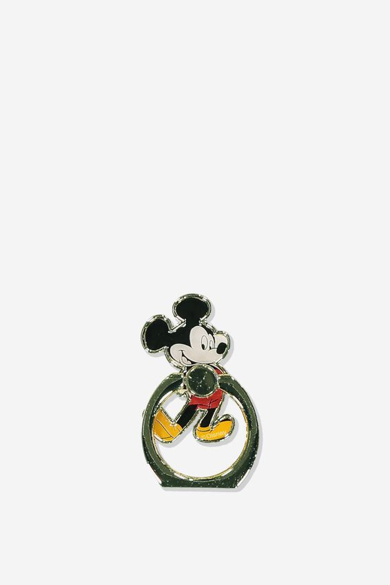 Disney Metal Phone Ring, LCN DIS VINTAGE MICKEY