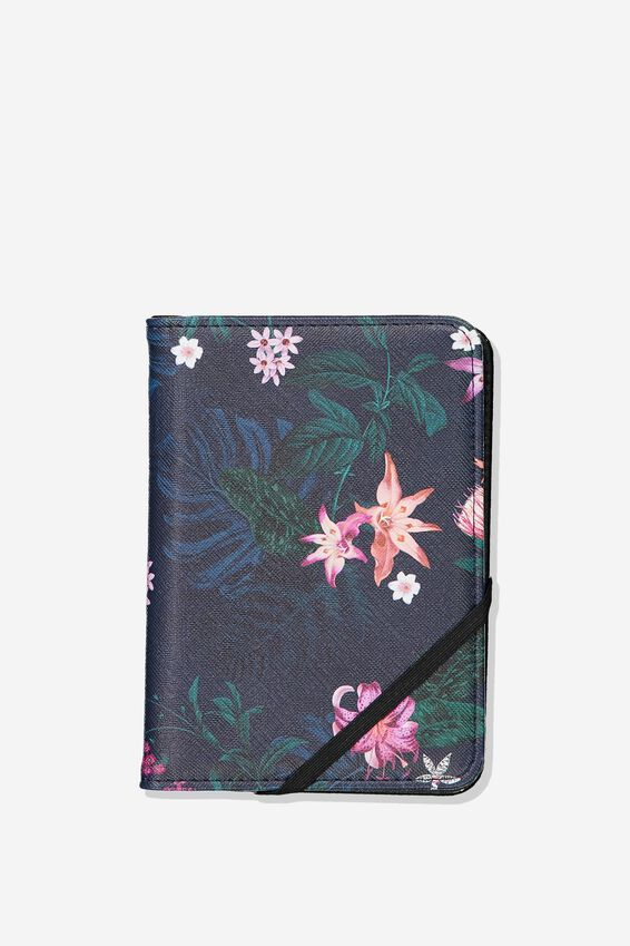 Passport Holder, JUNGLE FLORAL
