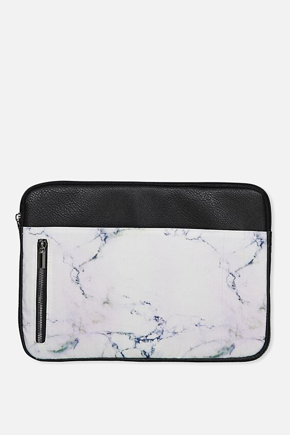 """Take Charge Laptop Cover 13"""", LUSH MARBLE"""