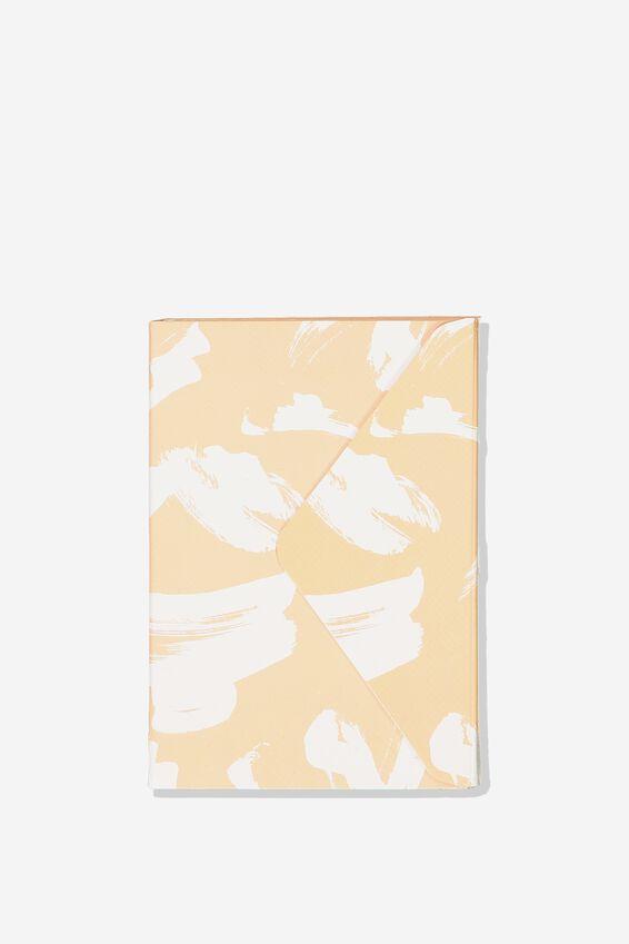 Pocket Sticky Note Set, PINK PAINT