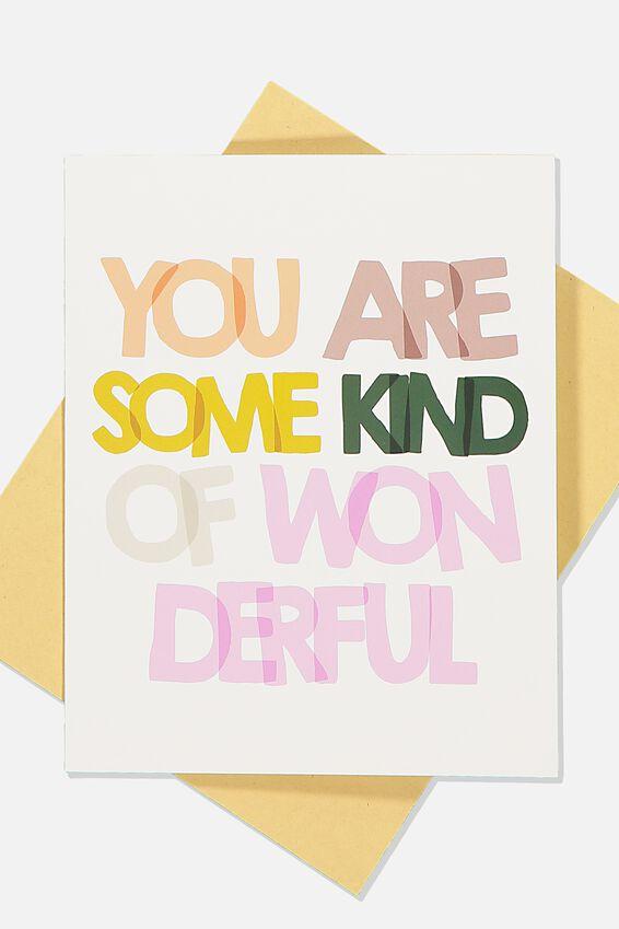 Love Card, MULTI YOU ARE WONDERFUL