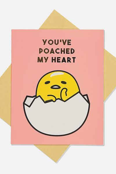 Love Card, LCN SAN GUD YOUVE POACHED MY HEART