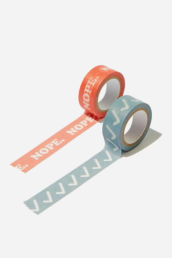 Washi Tape 2Pk, BLUE & RED
