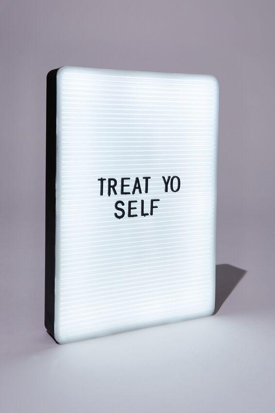 Peg Board Light Box, BLACK