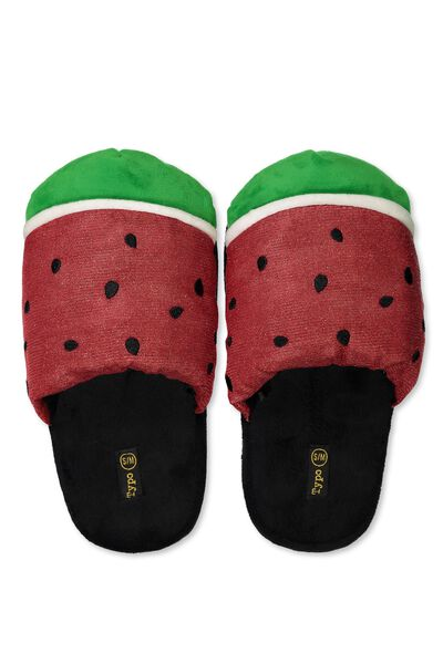 Slippers, WATERMELON