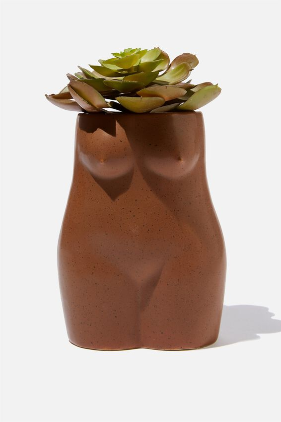 Small Shaped Planter, BODY