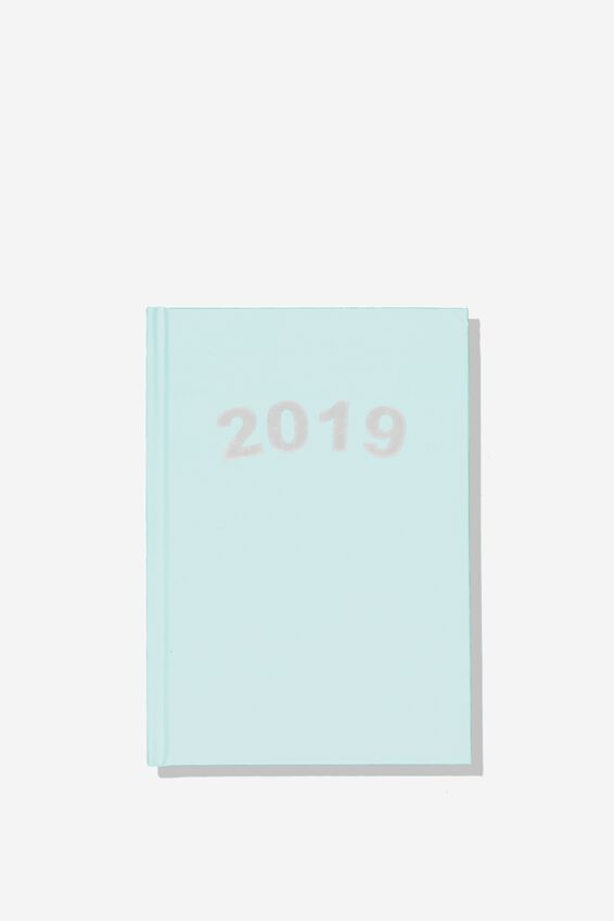 2019 Daily List Planner, BLUE