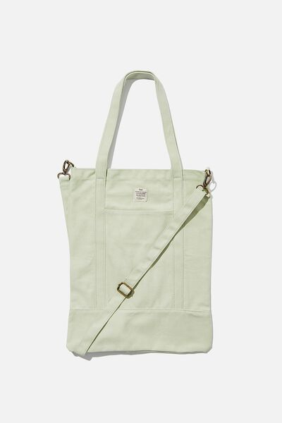 Book Tote Bag, WASHED SAGE