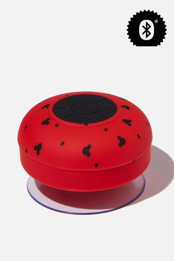 Disney Shower Speaker, LCN DIS DITSY RED