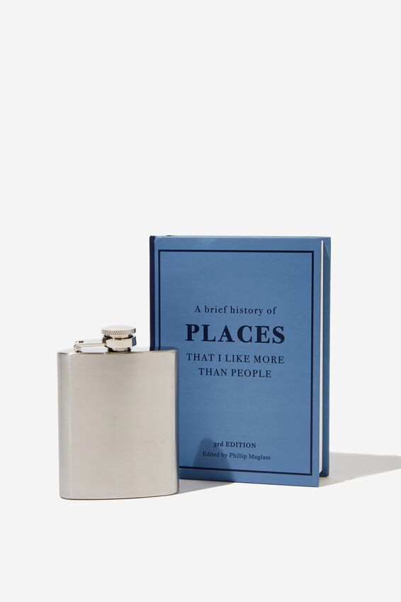 Flask In A Book, PLACES I LIKE!