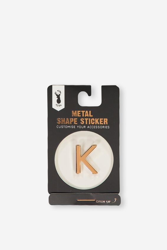 Metal Stickers, ROSE GOLD K