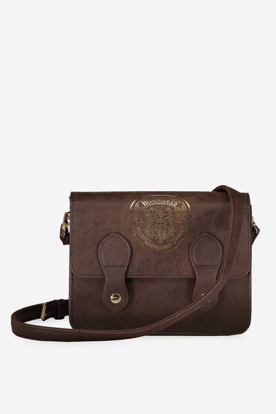 Mini Buffalo Satchel Bag, LCN HP HOGWARTS