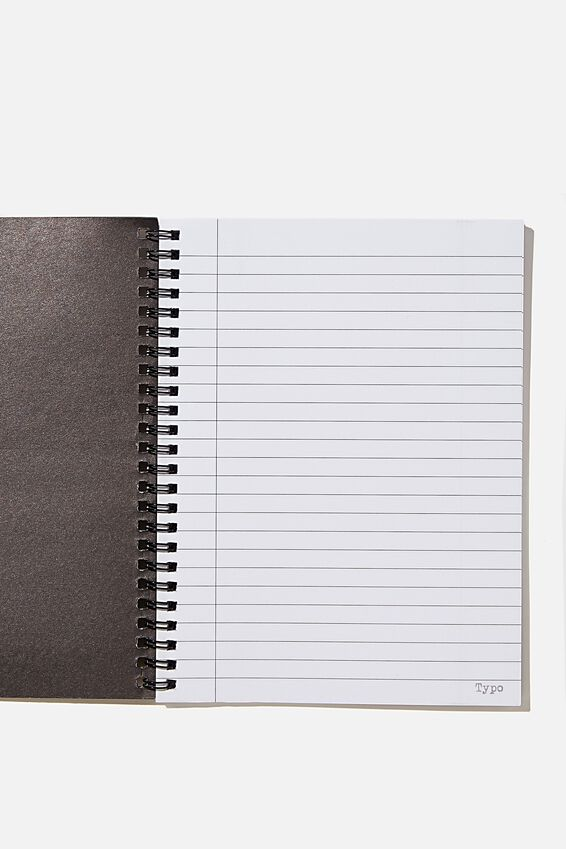 A5 Spinout Notebook Recycled, RG UK GREY OTHERS ME!!