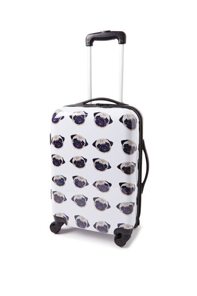 Carry On Suitcase, PUG