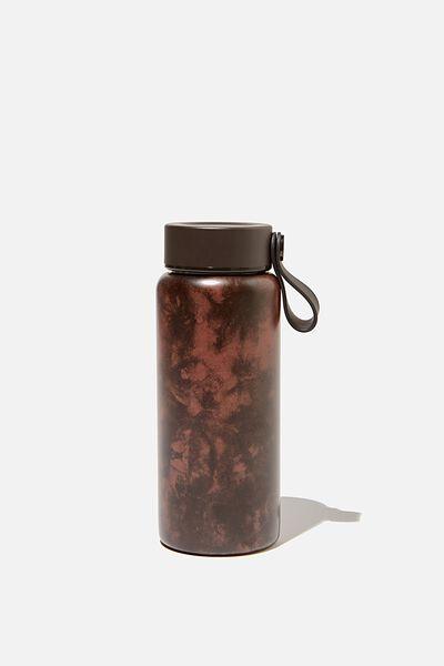 Mini Gotta Go Metal Drink Bottle, TIEDYE CHOC