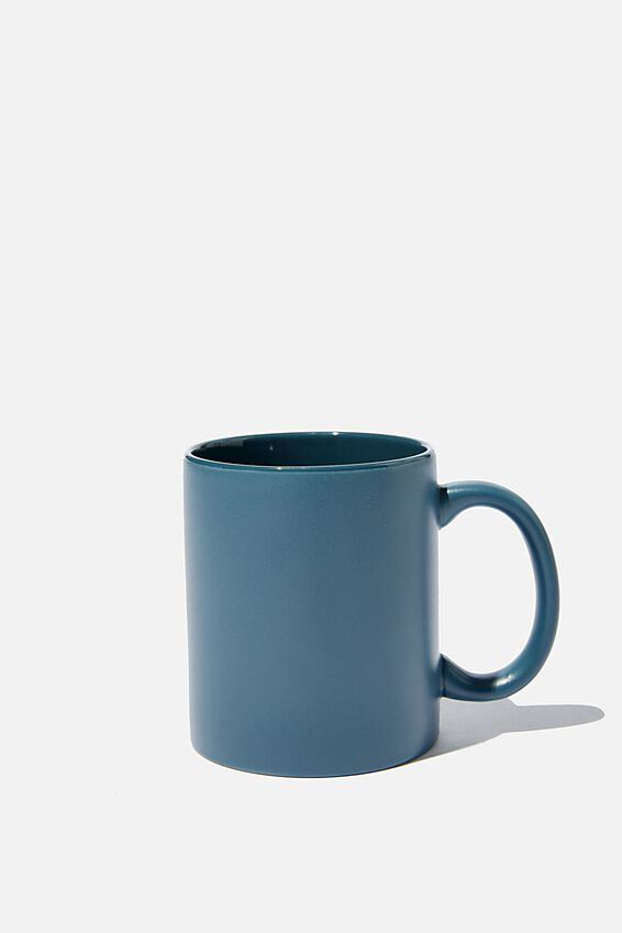 Anytime Mug, MATTE PETROL BLUE