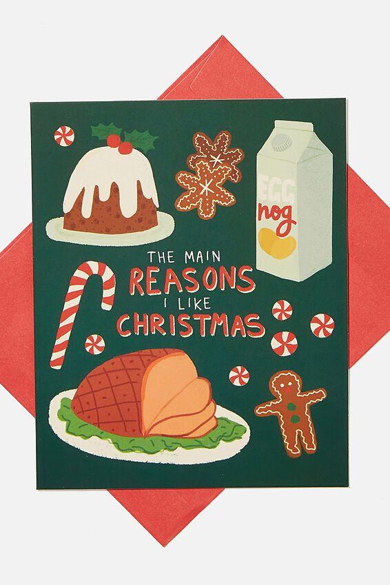 Christmas Card 2020, REASONS I LIKE CHRISTMAS