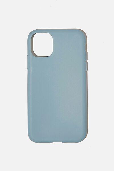 Recycled Phone Case iPhone 11, DENIM BLUE