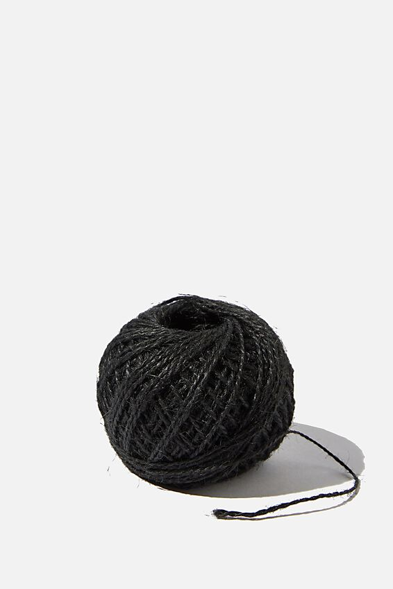 Twine Roll, BLACK