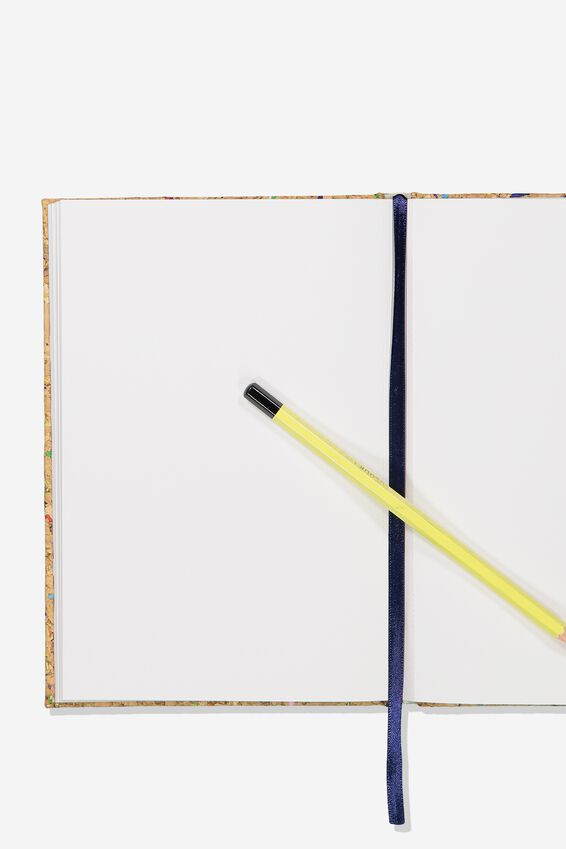 A5 Sketch Notebook, CORK