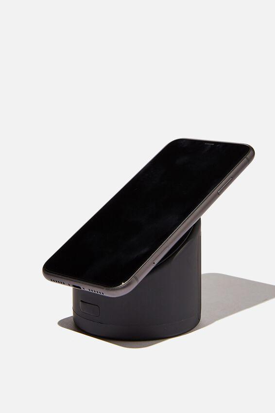 Wireless Shower Speaker, PREMIUM A.T. JETT BLACK