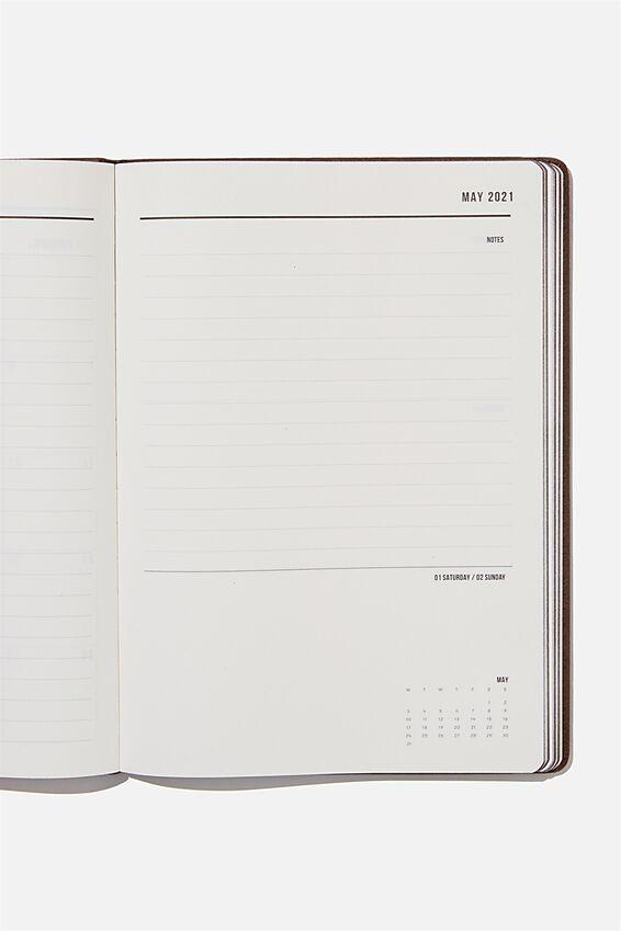 2021 A4 Weekly Buffalo Diary, BITTER CHOC