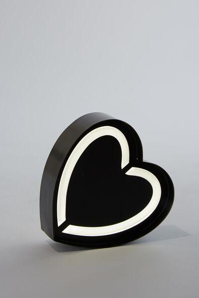 Alpha Tube Light, BLACK HEART