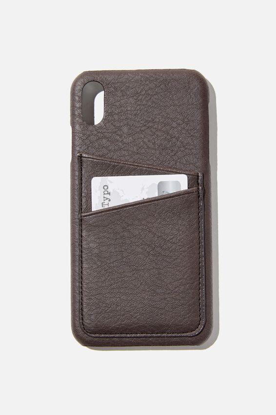 Phone Case iPhone Xs Max, BITTER CHOC