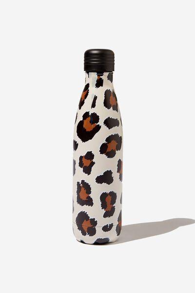 Metal Drink Bottle, LEOPARD