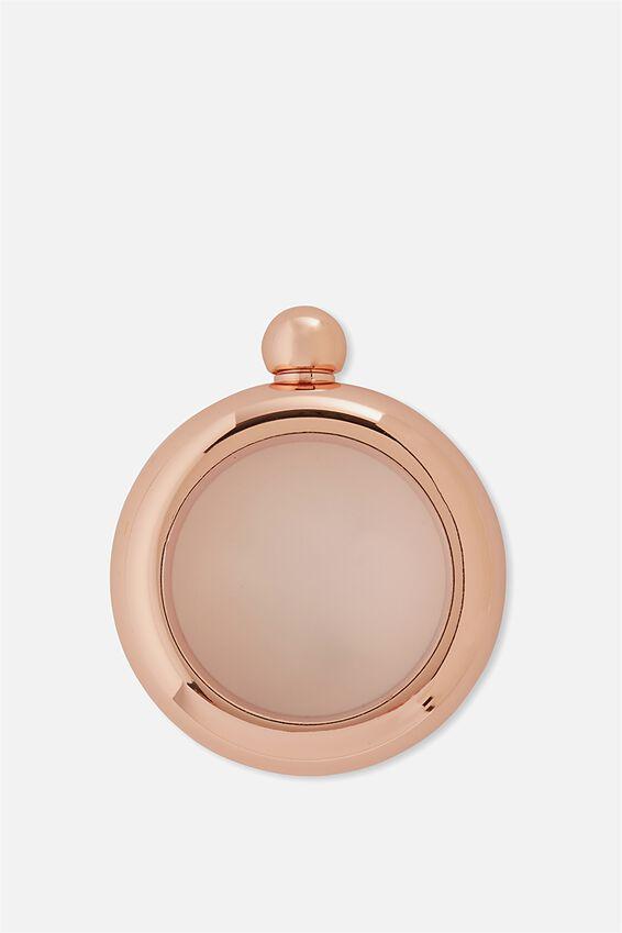 Flask Bangle, ROSE GOLD!