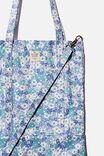 Book Tote Bag, DITSY CORNFLOWER