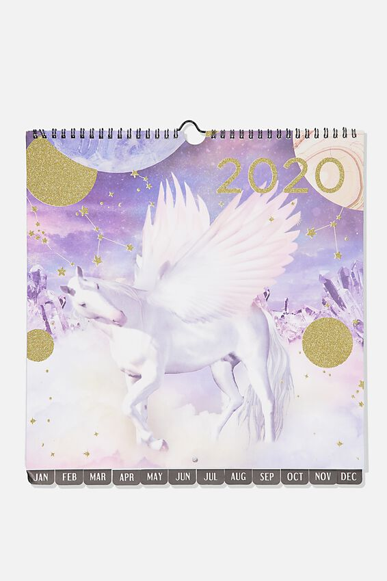 2020 Hot Date Calendar, PEGASUS