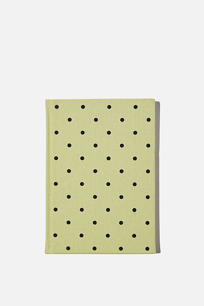 A5 Dot Oxford Notebook, MENTHE POLKA