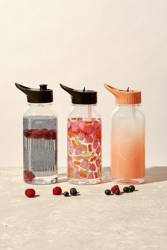 Drink It Up Bottle, CHERRY AND BERRY