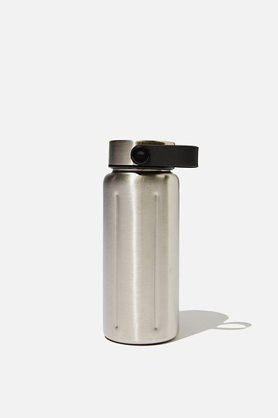 The Traveller Drink Bottle, SILVER