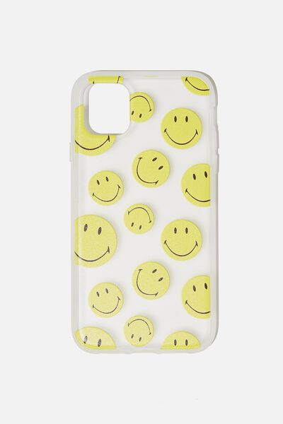 Protective Phone Case iPhone 11, LCN SMI SMILEY YDG