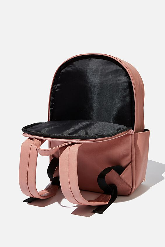 Formidable Backpack, DUSTY ROSE W/ QUILTING